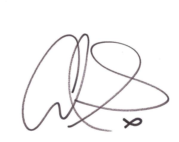 Alan Smith signature