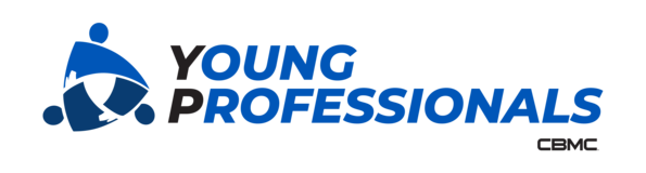 CBMC Young Professionals logo blue and black
