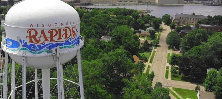 Wisconsin Rapids water tower